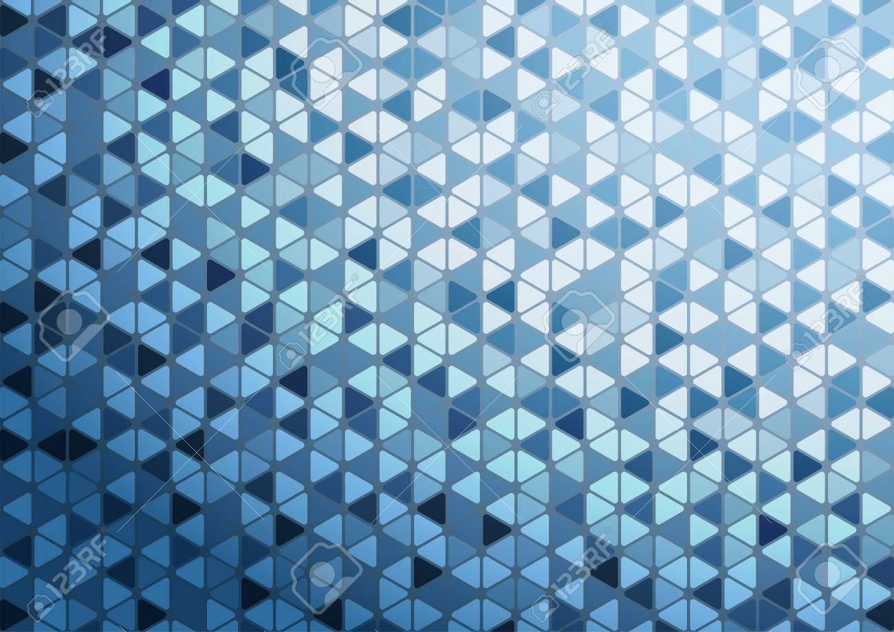 Abstract Blue Triangle Pattern Background Wallpaper For Presentation And Report Smart Modern Beautiful