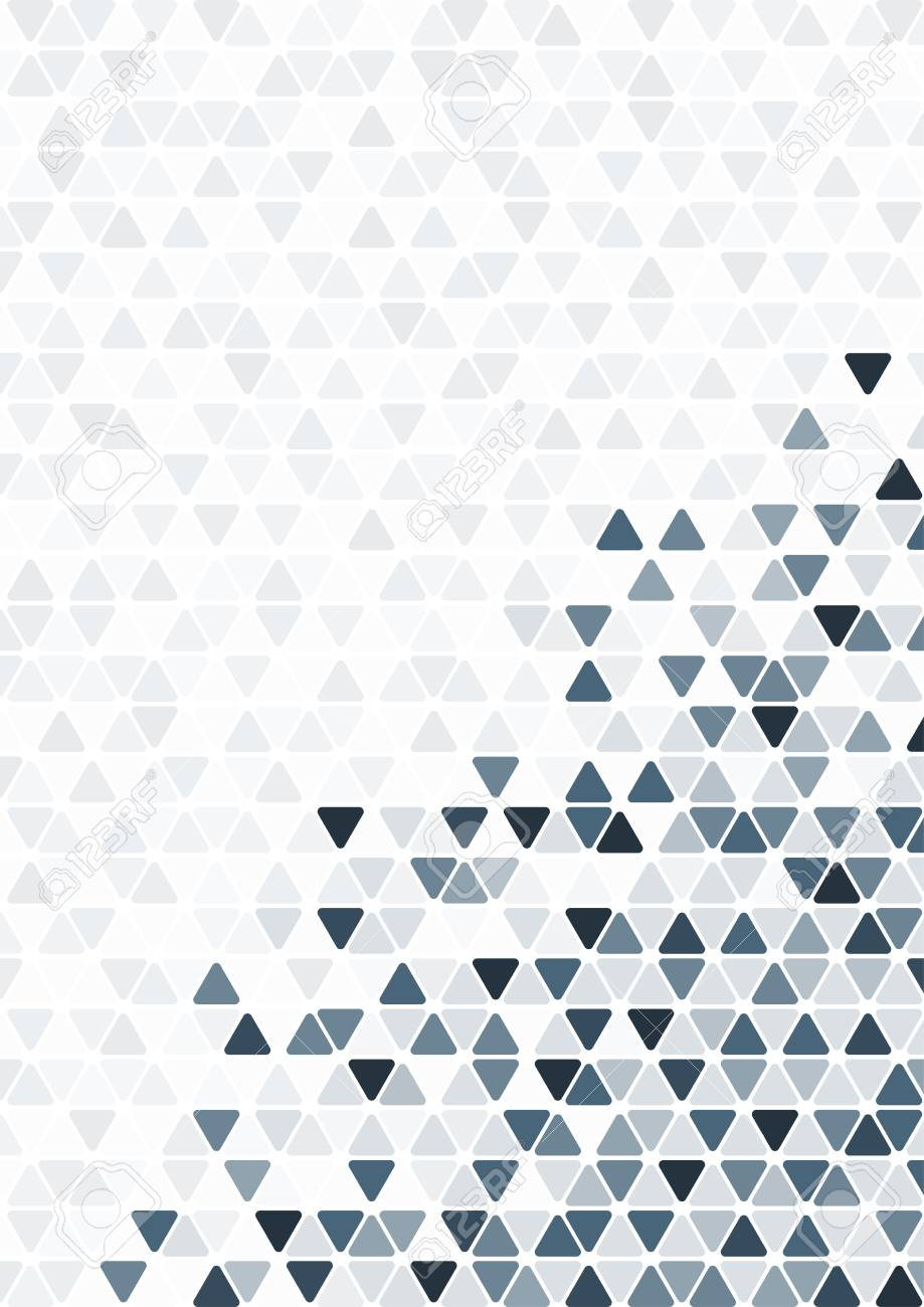 Abstract Blue Triangle Pattern Background Wallpaper For Presentation