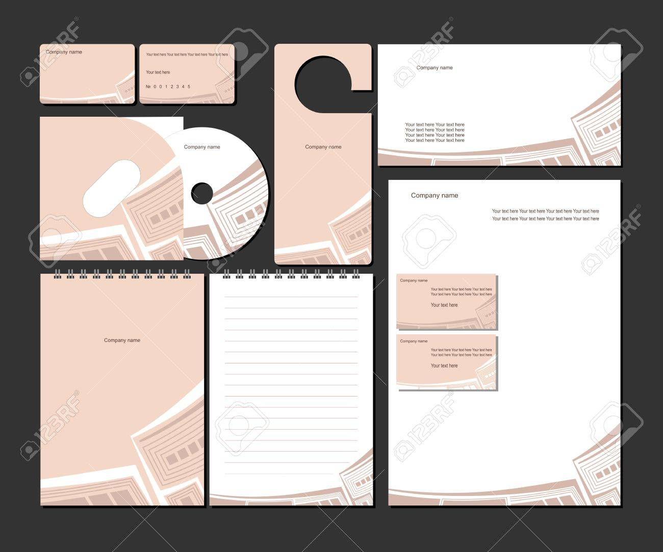Business templates Stock Vector - 12436253