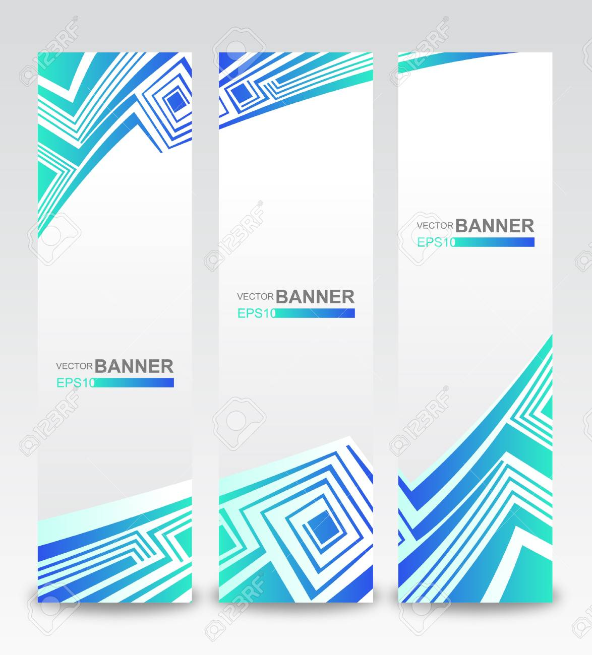 The stylish vertical banners Stock Vector - 14203255
