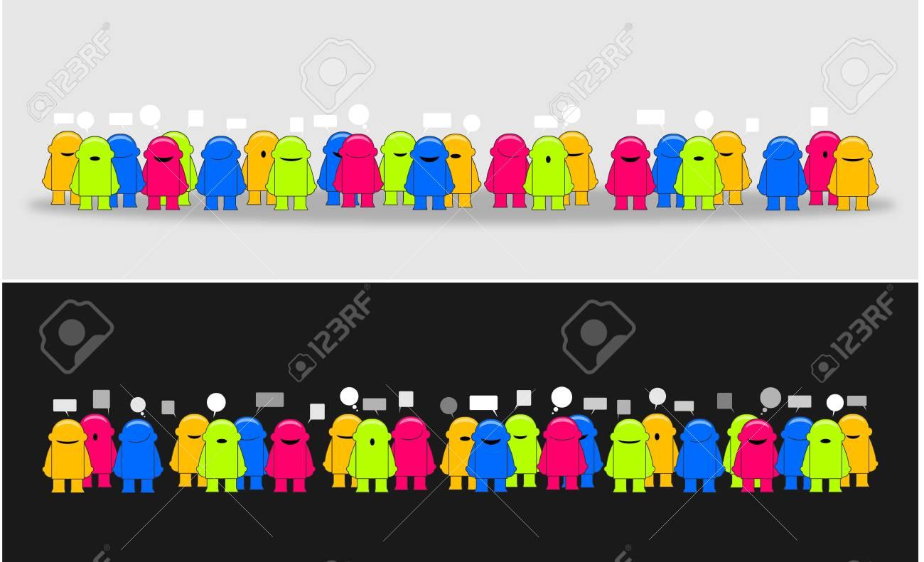 Social media network_Vector illustration Stock Vector - 14041380