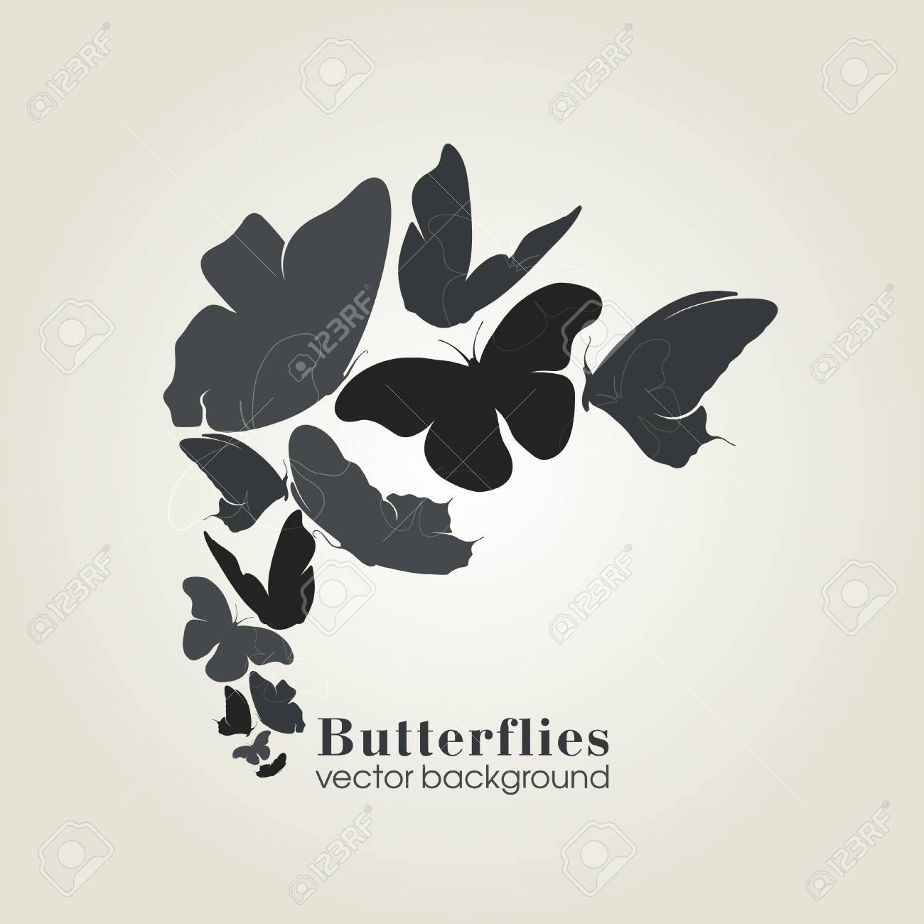 Beautiful butterfly Stock Vector - 15230383