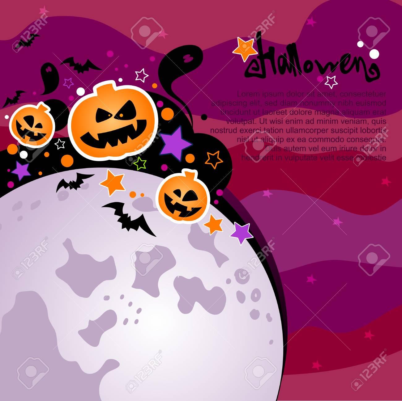 Halloween background Stock Vector - 15441928
