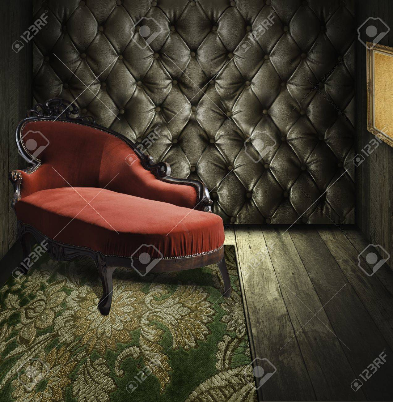 Luxury retro room interior Stock Photo - 11830660