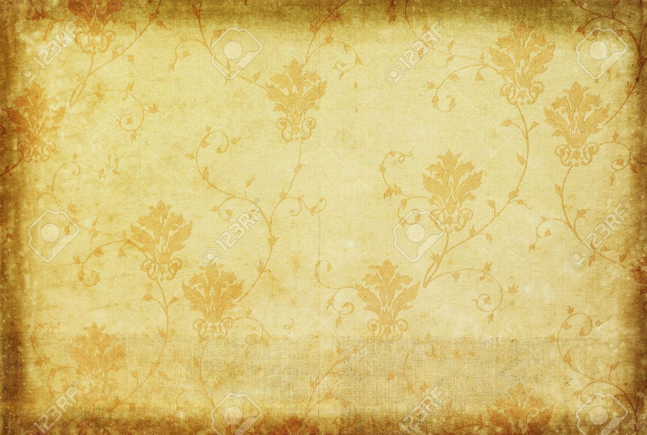 Wallpaper Pattern Classic And Vintage Style