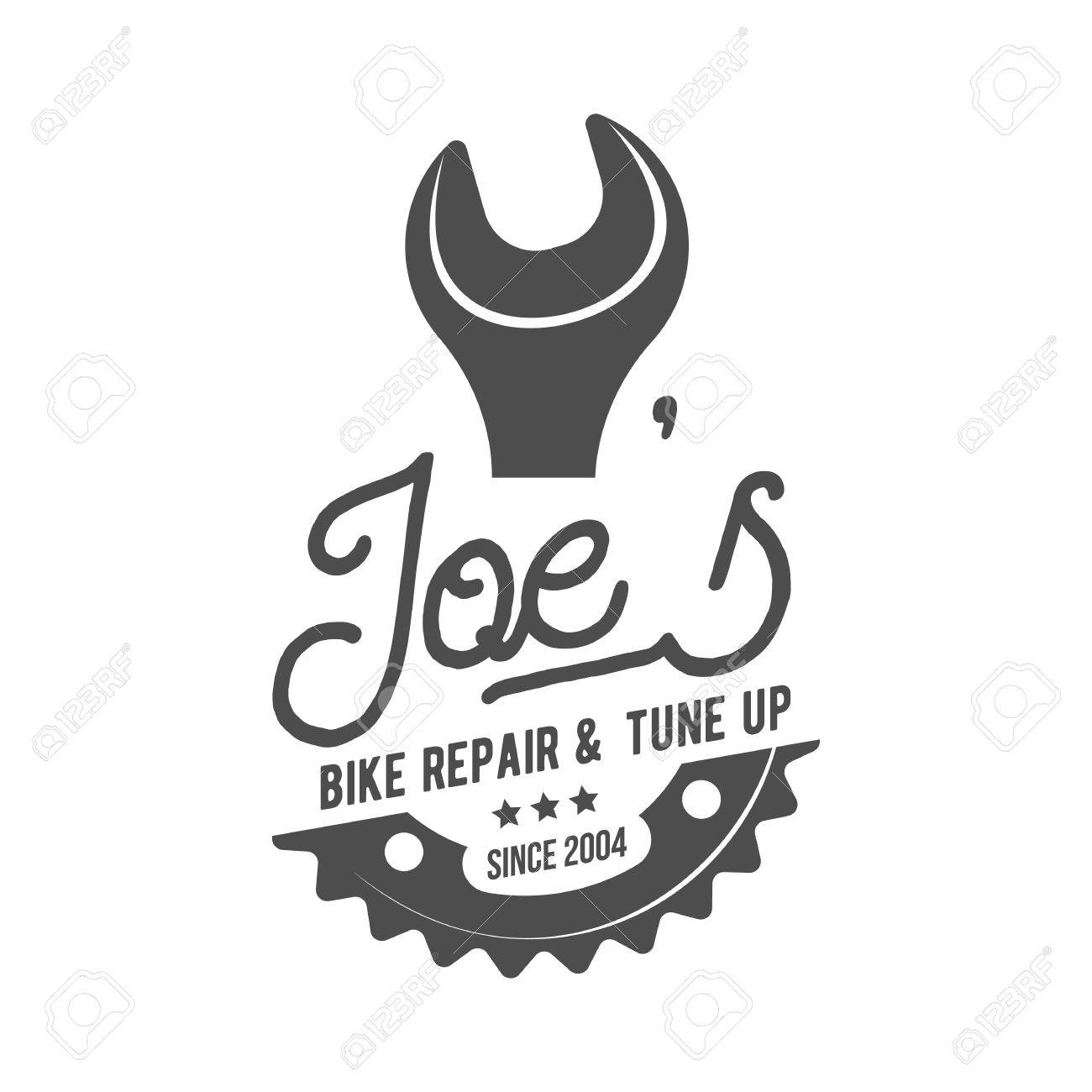 Vintage And Modern Bicycle Logo, Badge, Label And Design Elements ...