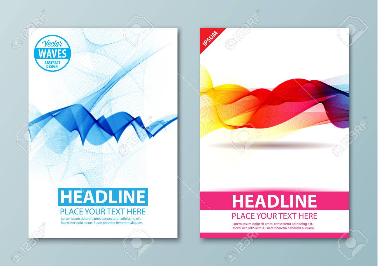 Abstract Background Brochure Poster Presentation Leaflets - Pages business card template