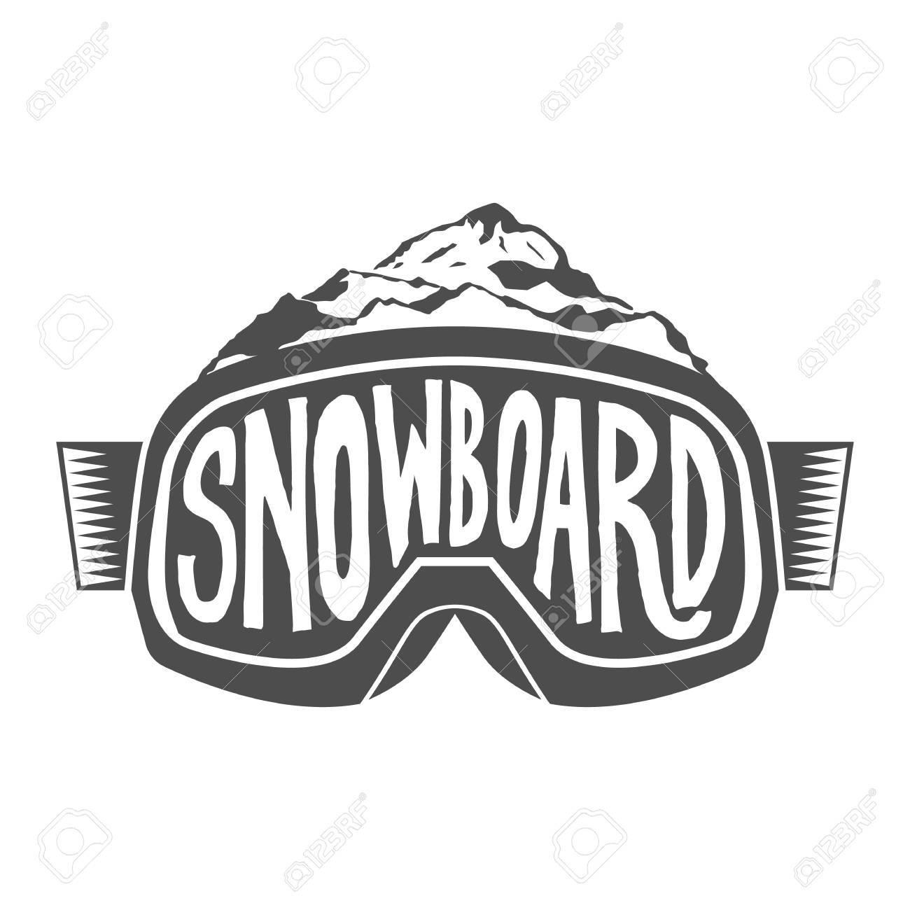 Snowboarding Motivation Zitiert. Typografische Kunst Für Plakat ...
