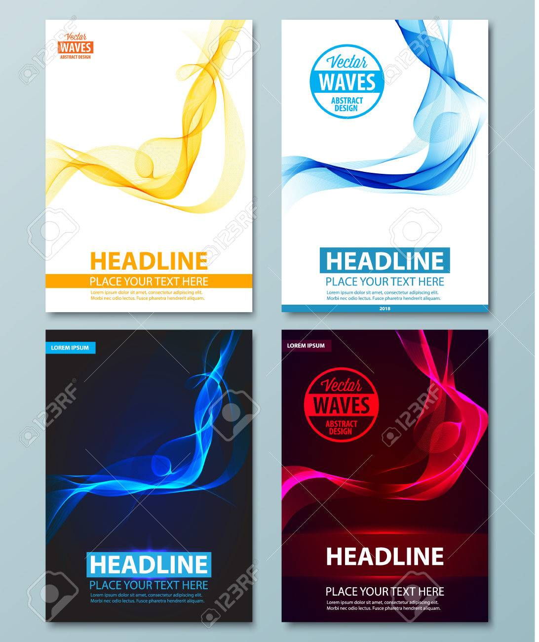 Abstract Background. Flyer, Brochure, Poster, Presentation ...