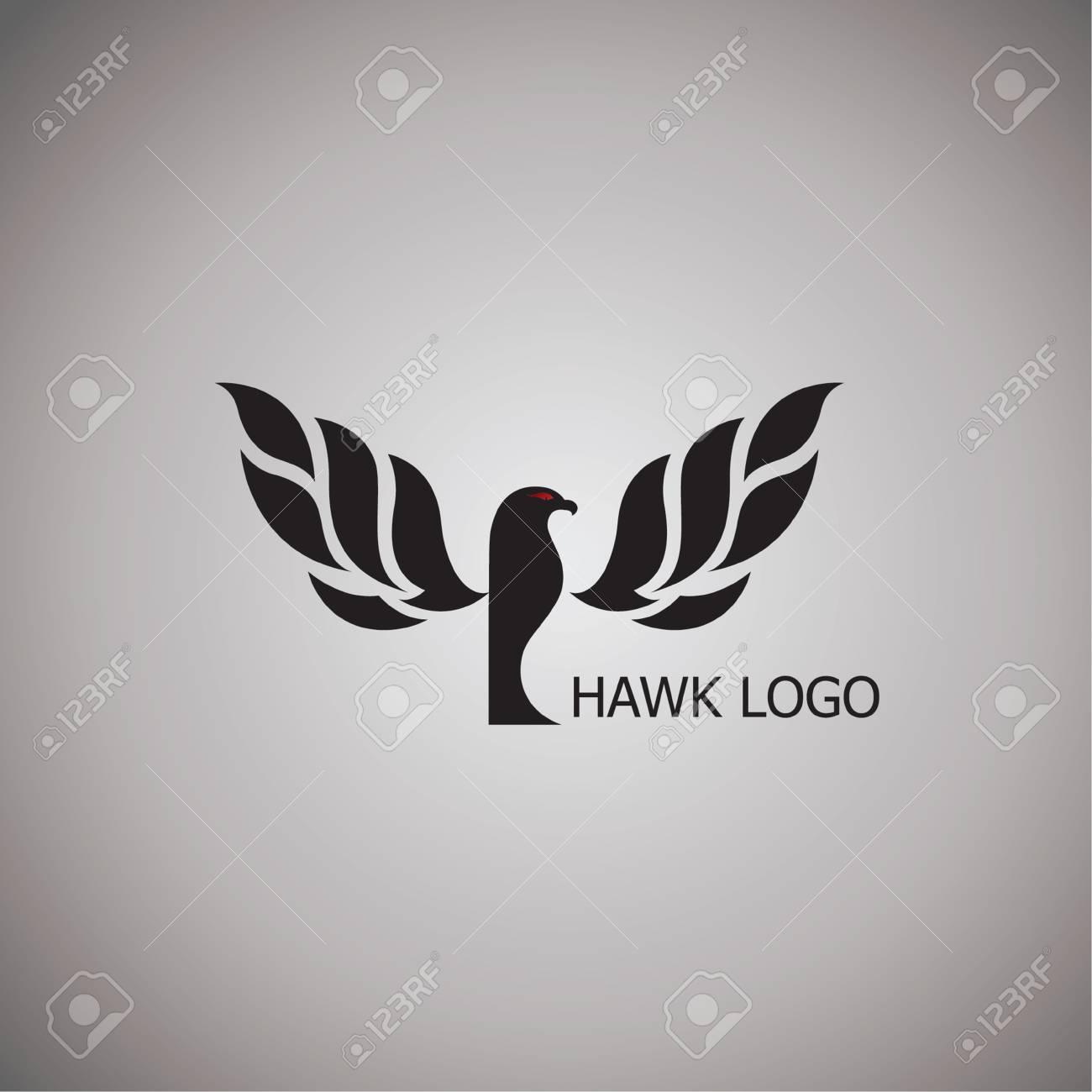 背景のベクトル イラストをデザインしたホークのアイデア ロイヤリティ
