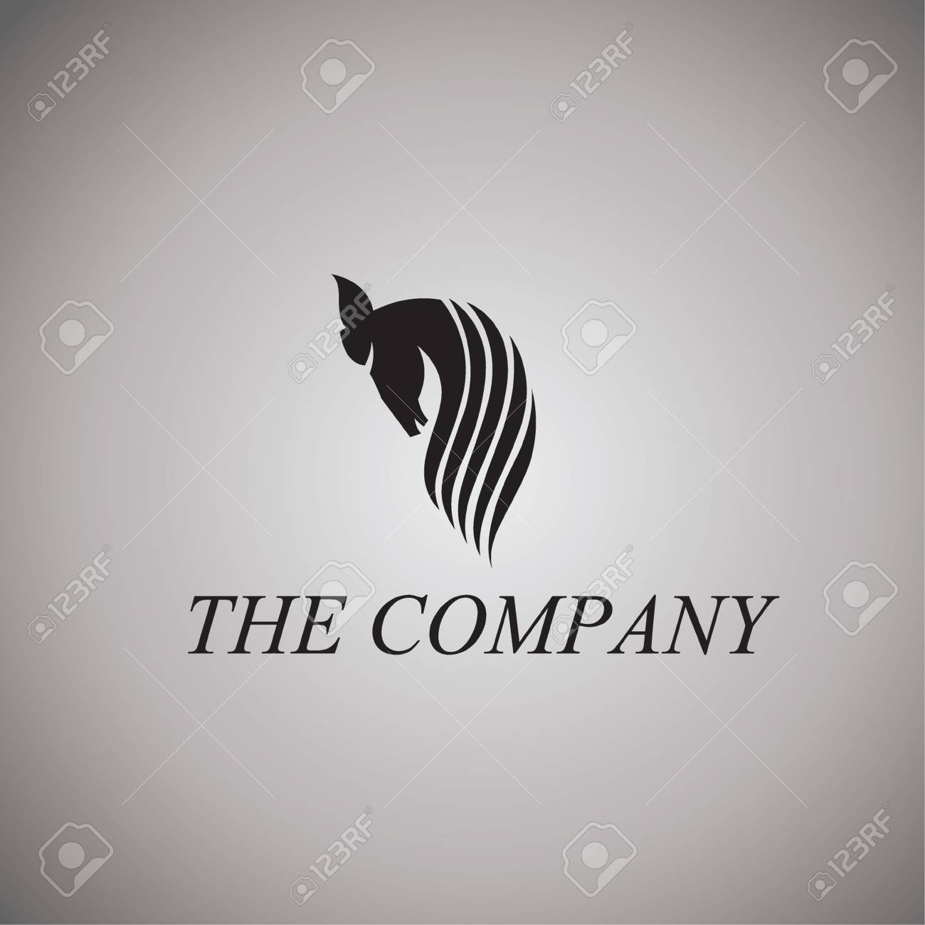 Horse Logo Ideas Design Vector Illustration On Background Royalty Free Cliparts Vectors And Stock Illustration Image 67625456