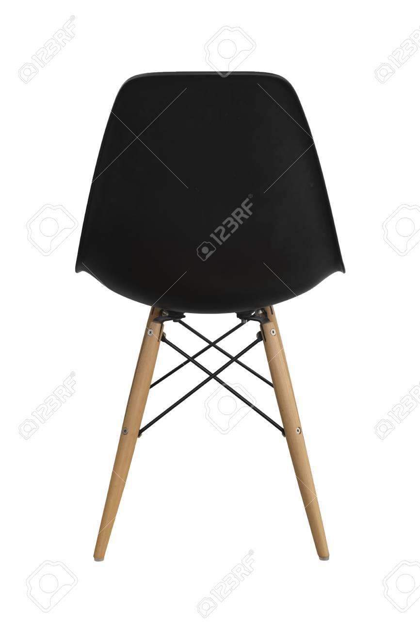 schwarzer stuhl
