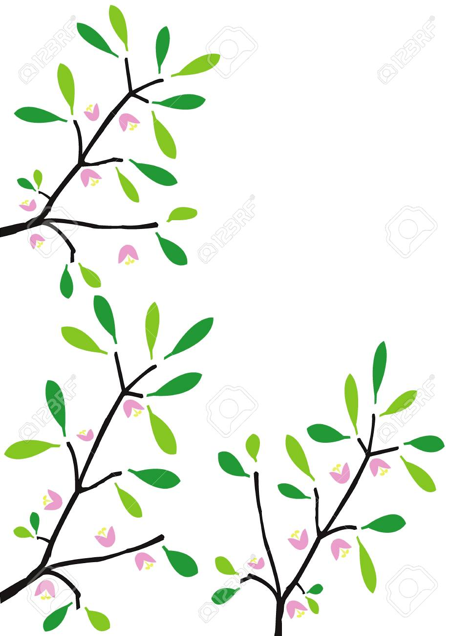 flower on tree vector Stock Photo - 9940121