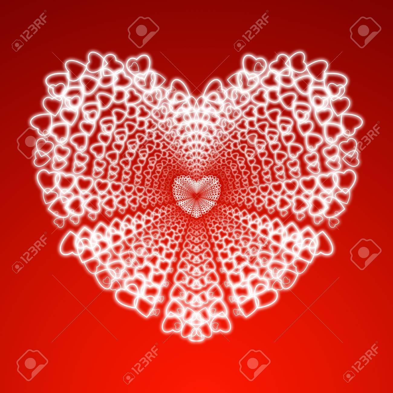 heart illustration Stock Photo - 17455453