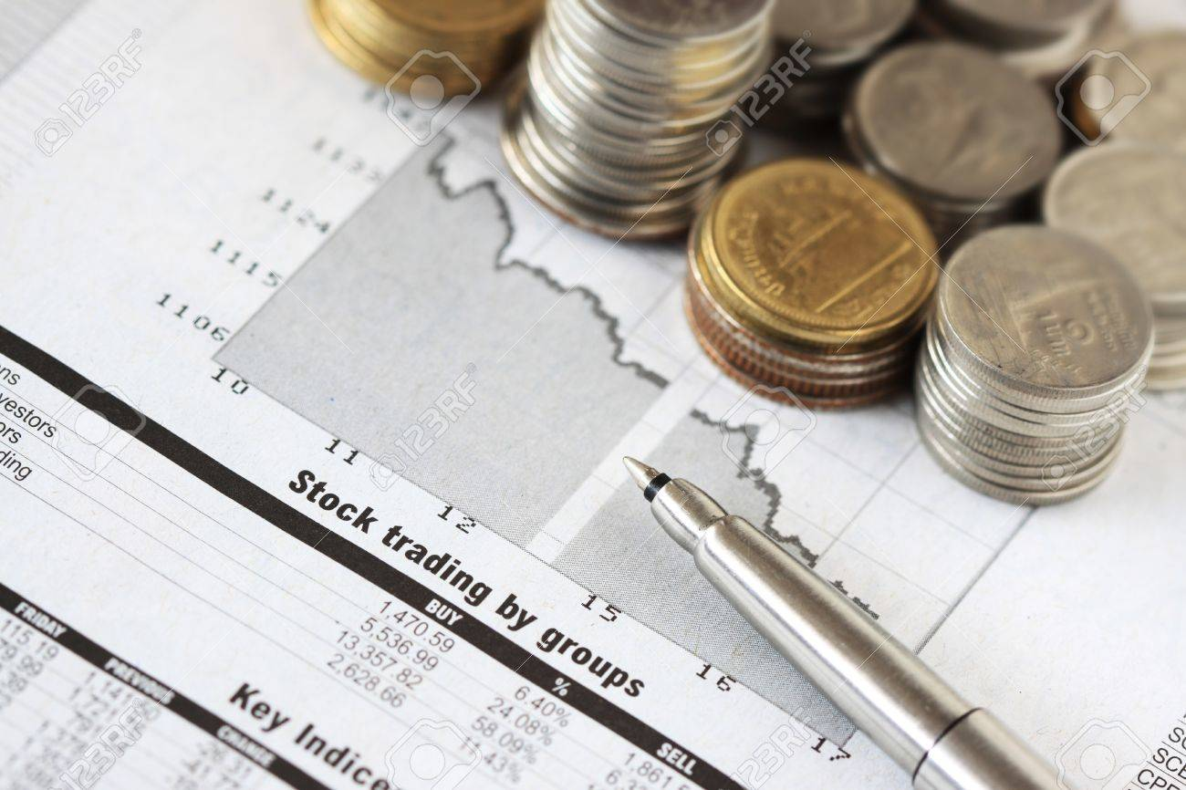 Stock Market Analysis With Pen And Money Photo Picture And – Stock Market Analysis