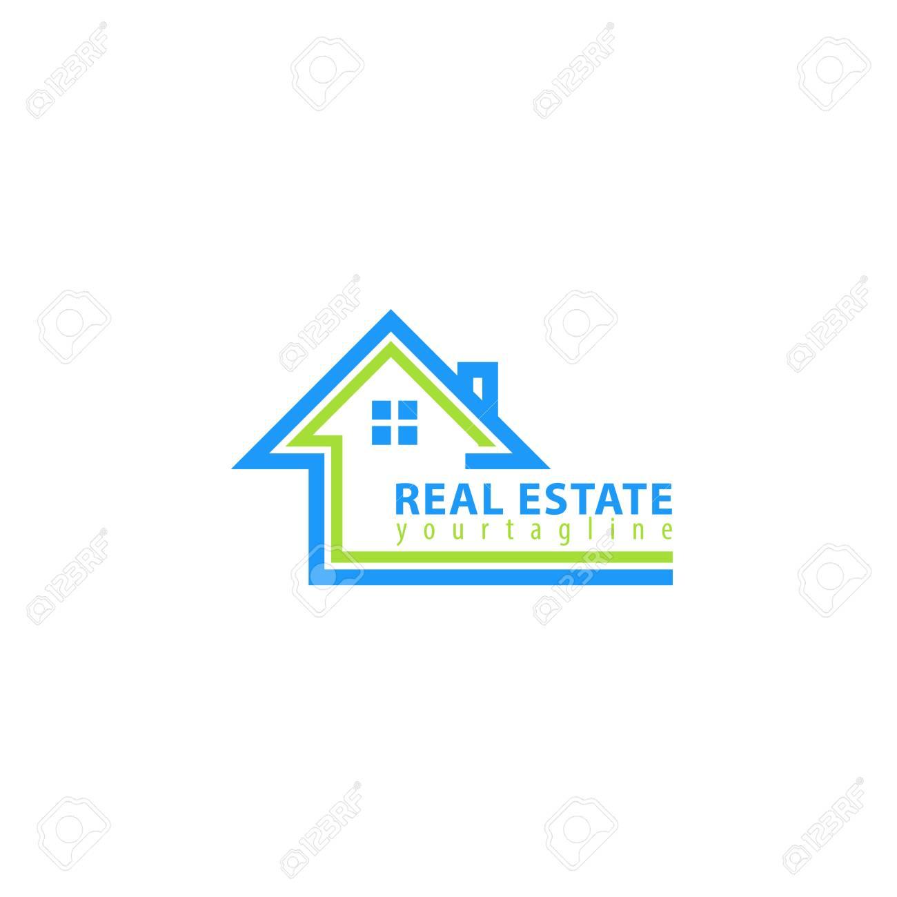 Real estate. Vector logo template - 108329394
