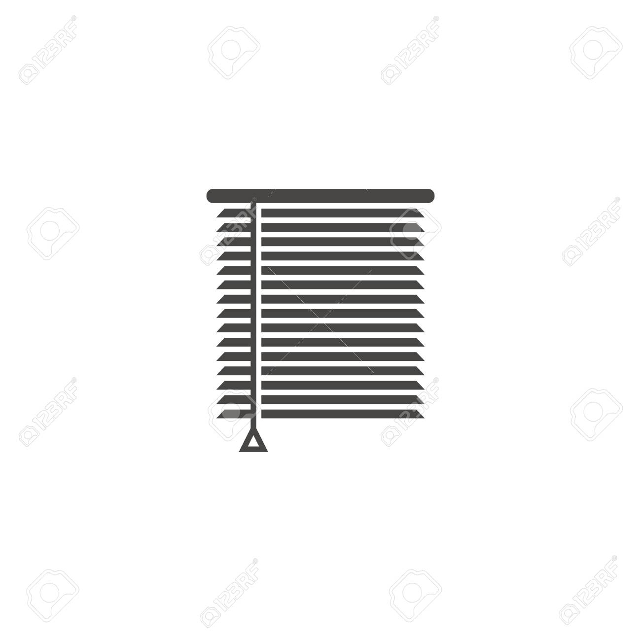 Louvers sign icon. Window blinds or jalousie symbol - 108329895