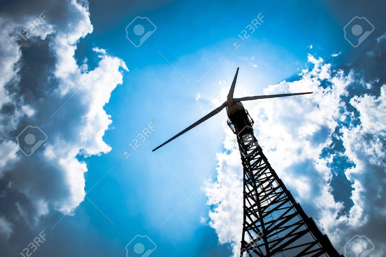 The wind turbine generator,the renewable energy - 37299634