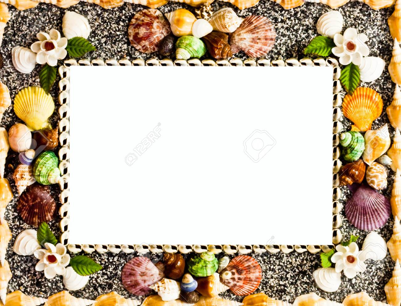 Frame used shells in many colors sizes to make up stock photo frame used shells in many colors sizes to make up stock photo 20492880 jeuxipadfo Choice Image