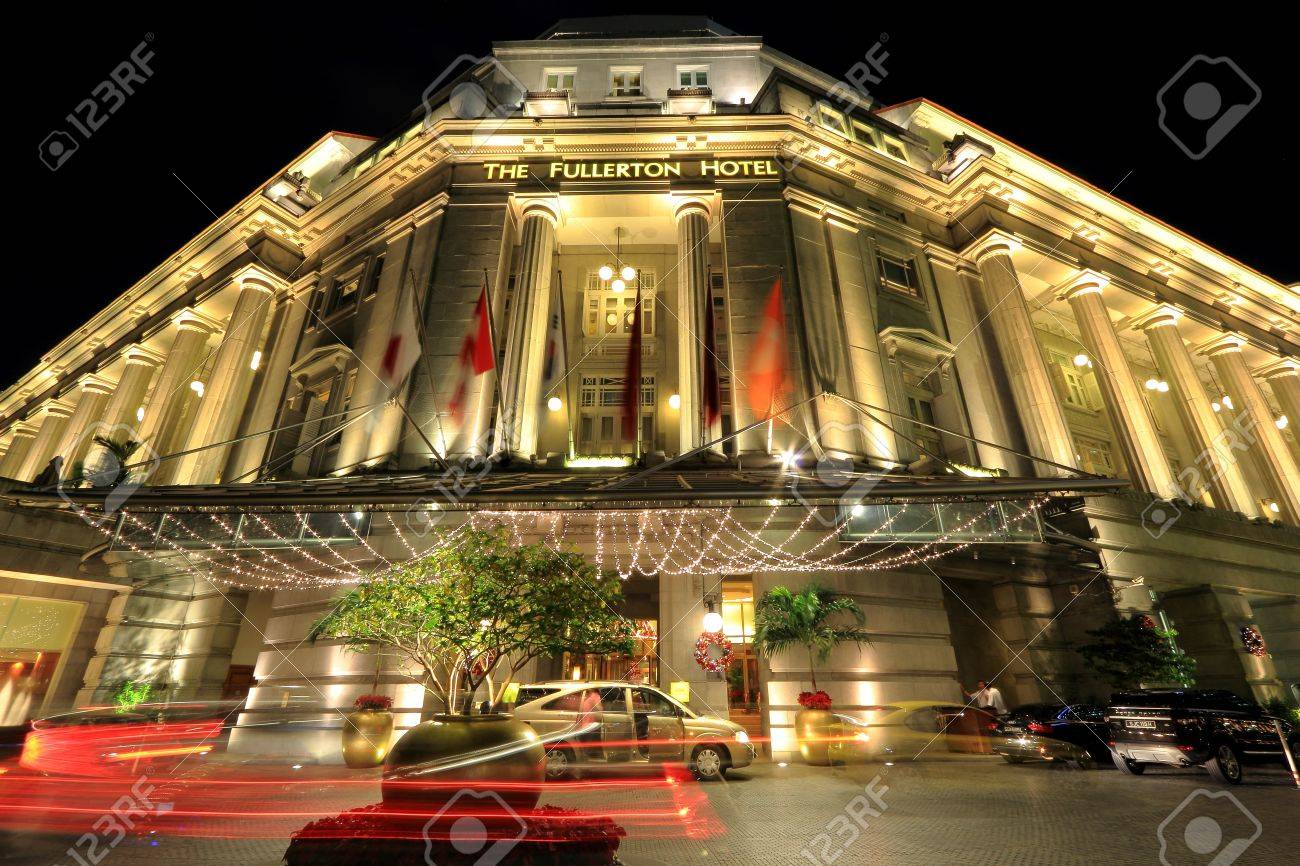 The Fullerton Hotel Singapore is a five-star luxury hotel located