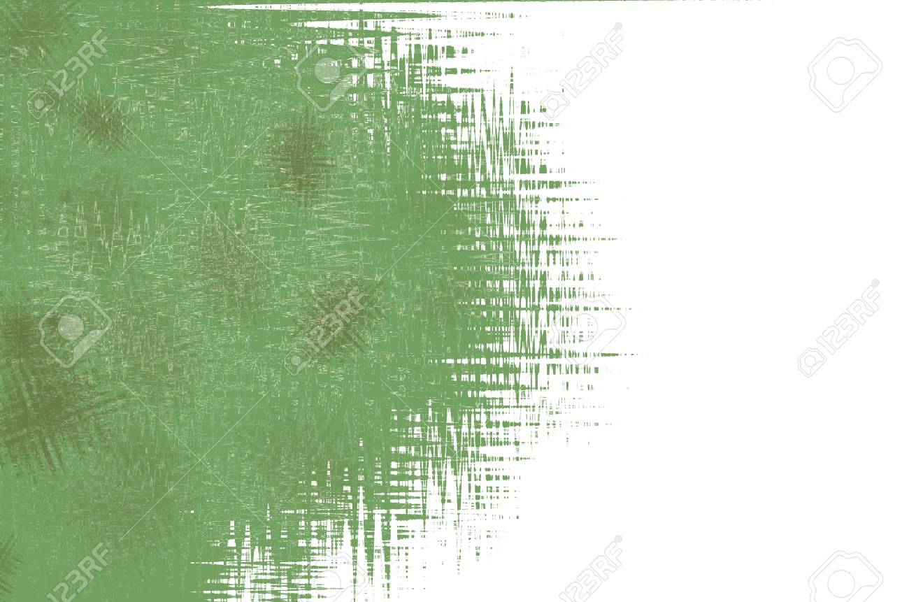 abstract art green background Stock Photo - 14204340