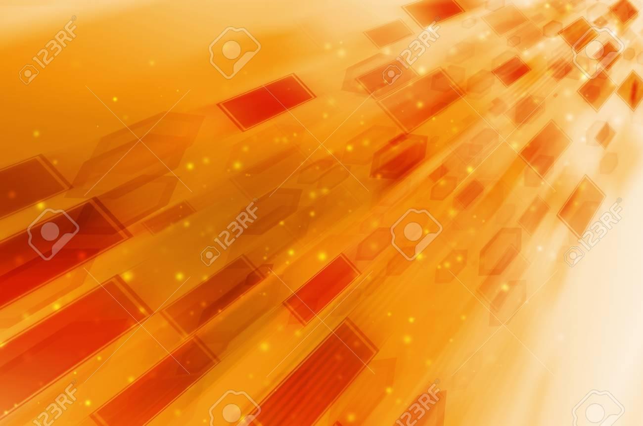 abstract orange background Stock Photo - 16190091