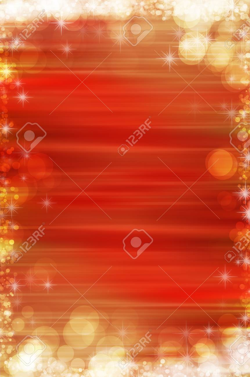 red abstract christmas background Stock Photo - 17418232