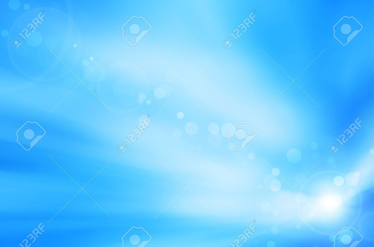 soft blue background and lens flare Stock Photo - 17418290