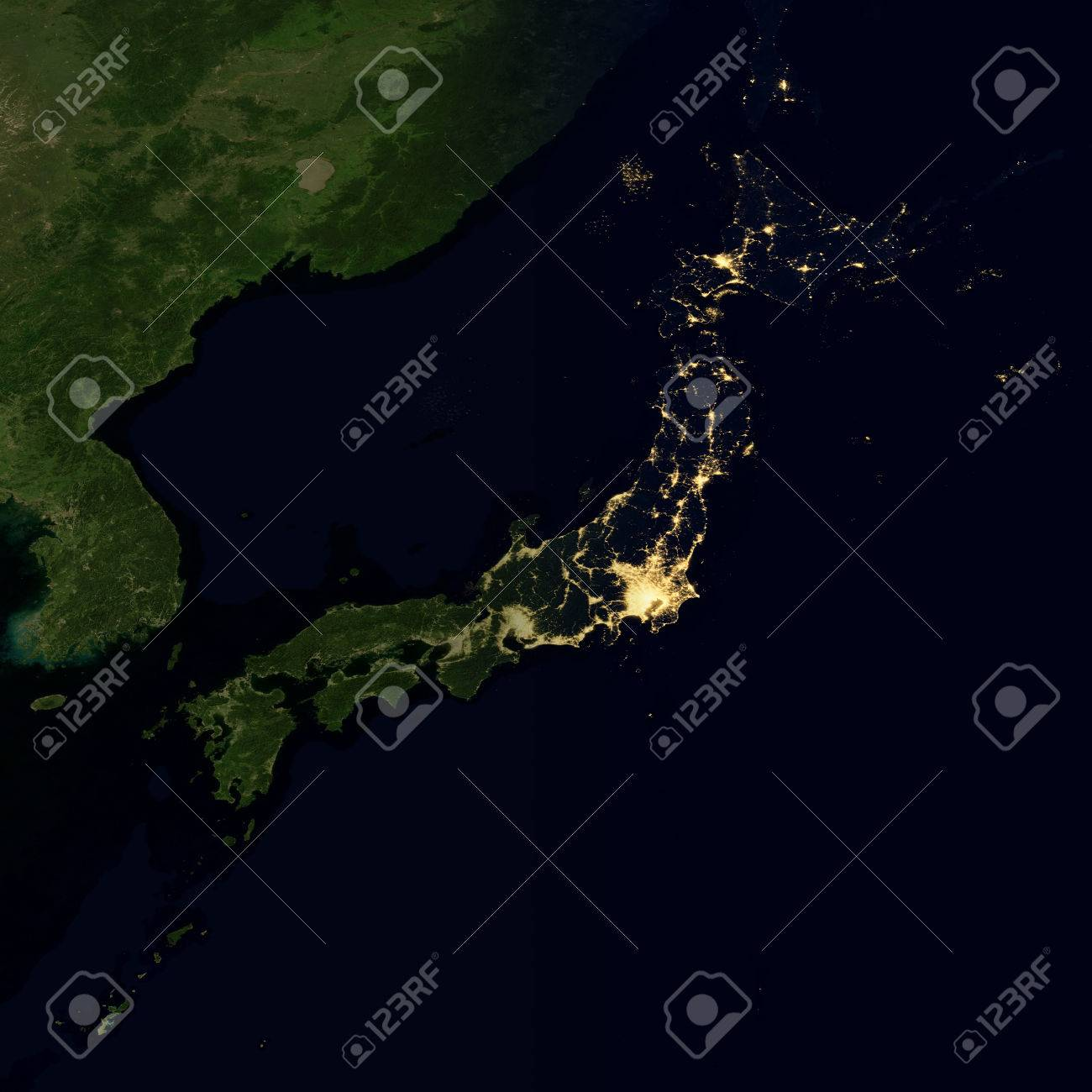 City lights on world map japan elements of this image are city lights on world map japan elements of this image are furnished by nasa gumiabroncs Image collections