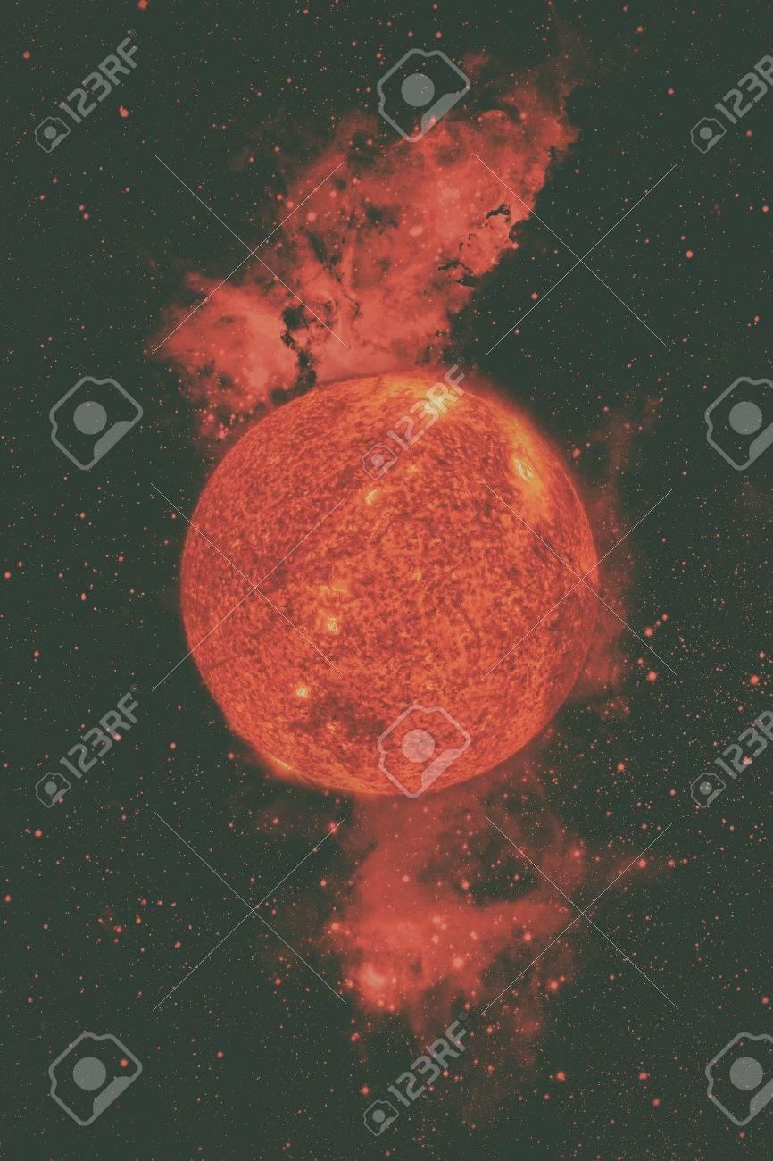 太陽系 - 太陽。それは太陽系の...