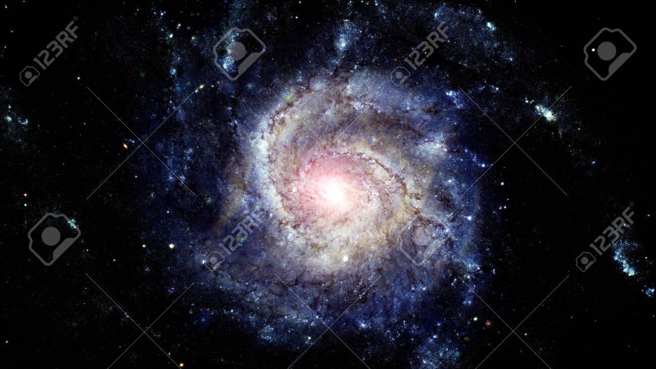 Spiral galaxy. - 144410606