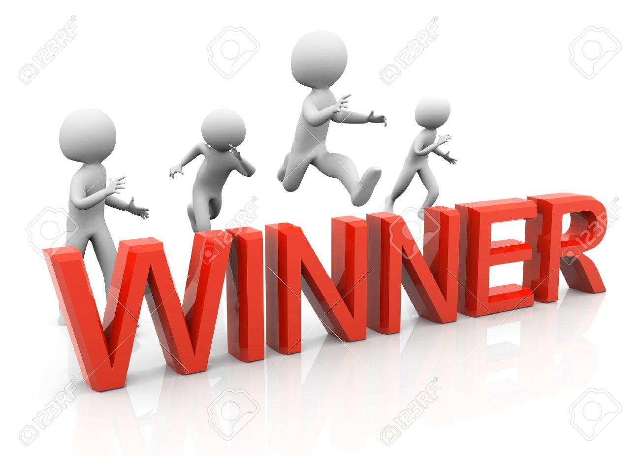 Concept Of Competition Goal Achievement Success Stock