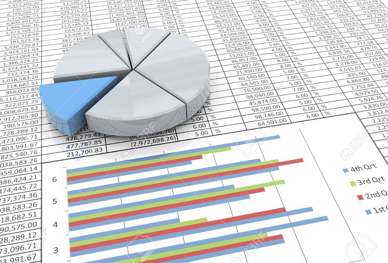 3d reflective pie chart on the background of spreadsheet stock 3d reflective pie chart on the background of spreadsheet stock photo 10027888 nvjuhfo Image collections