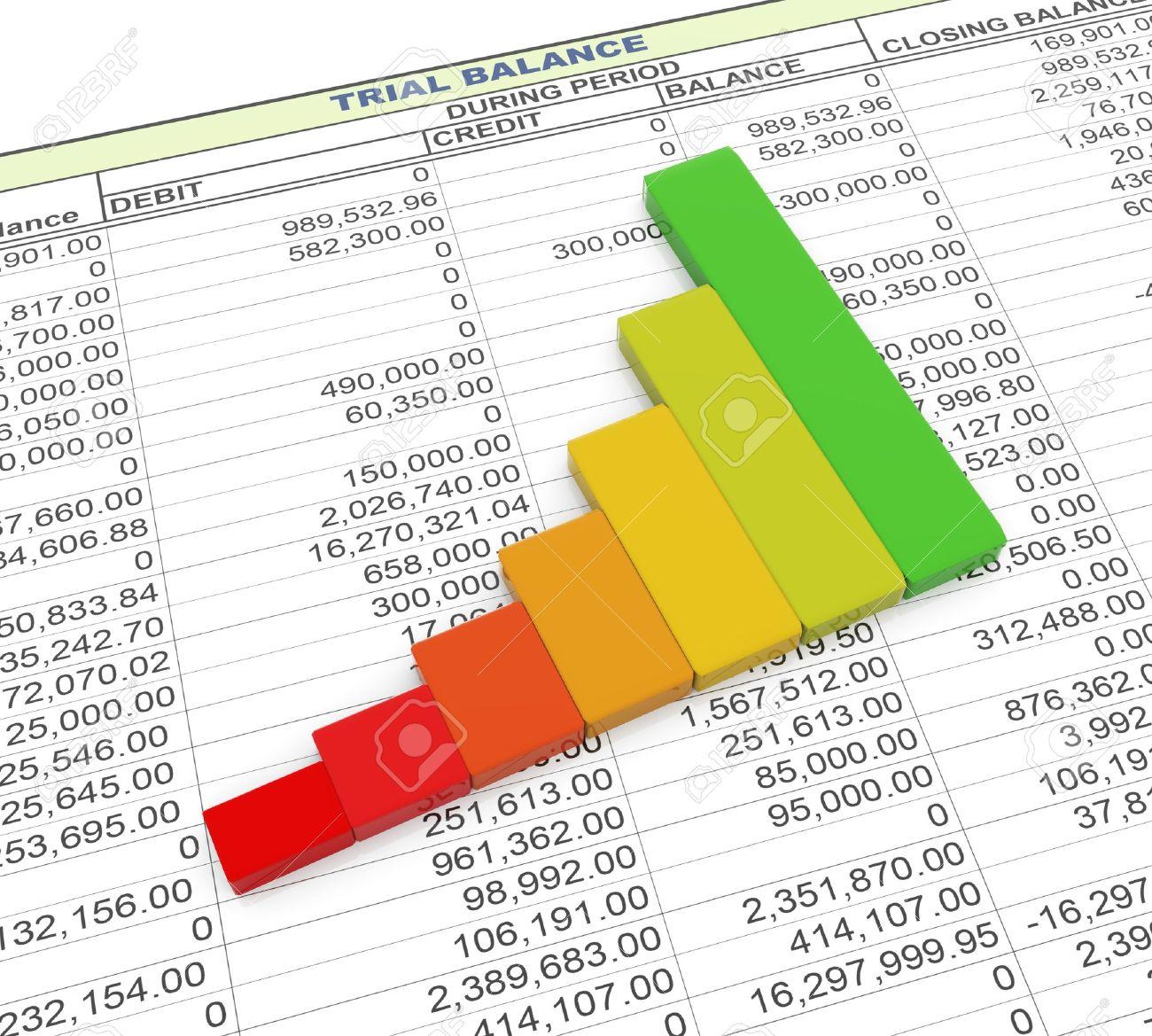 trial balance spreadsheet