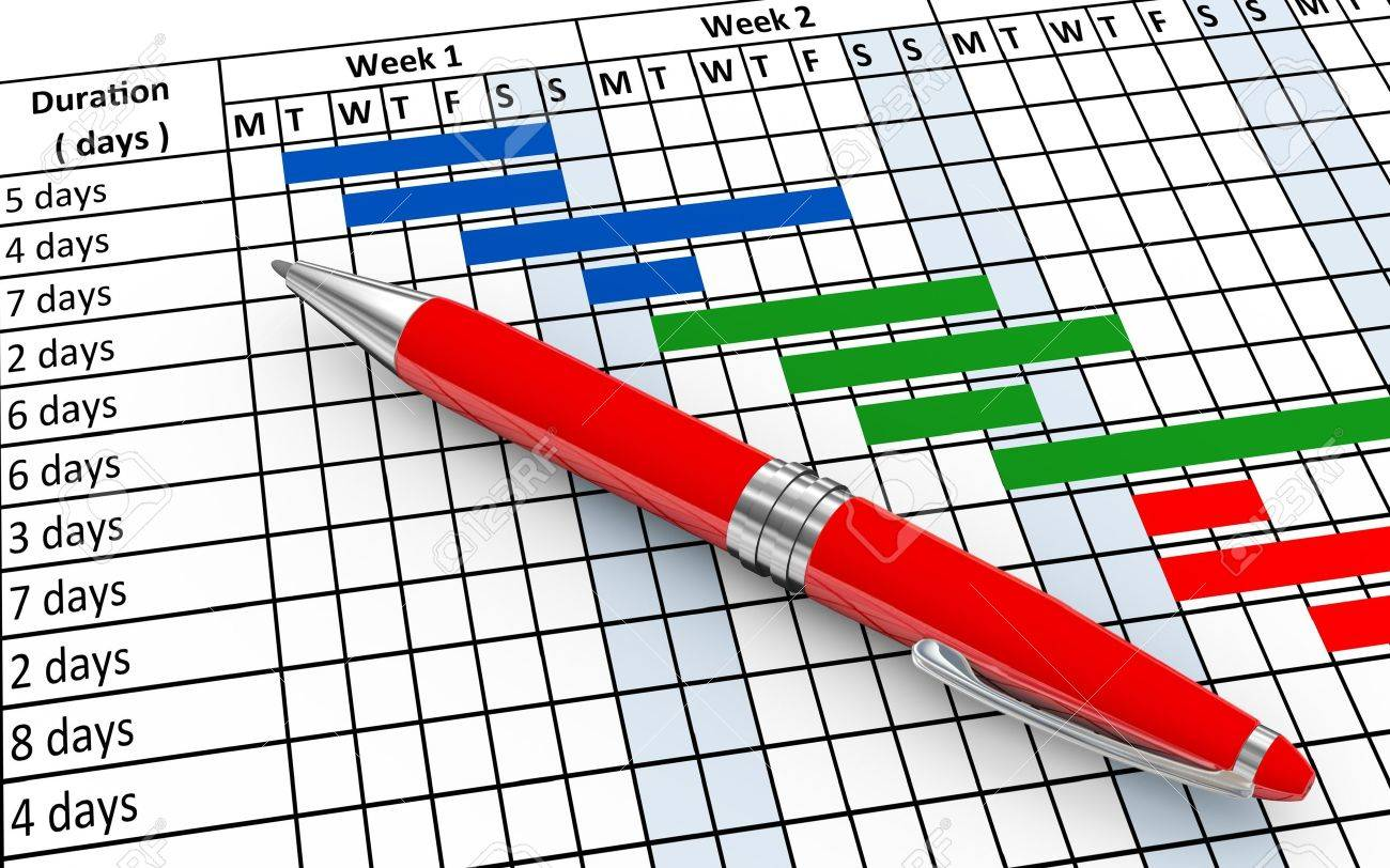 Gantt Chart Stock Photos & Pictures. Royalty Free Gantt Chart ...