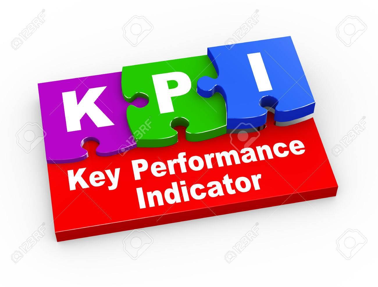 Representación 3D De Piezas Del Rompecabezas Presentación De KPI ...