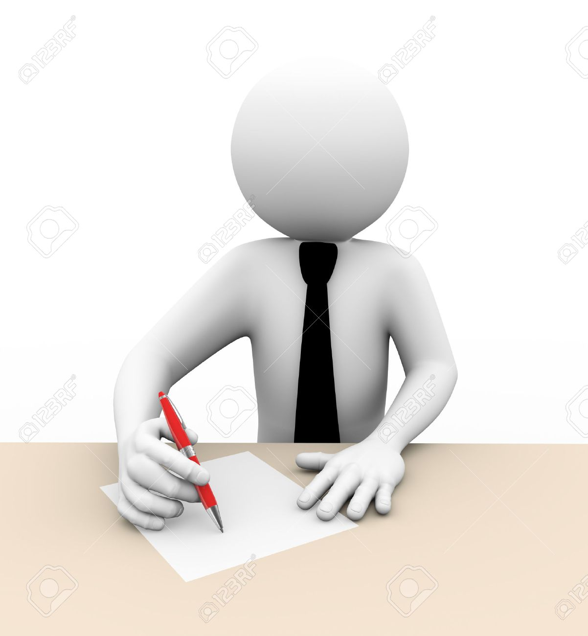 Businessman Male Hands Writing Graphics On White Paper Stock     Express Writers