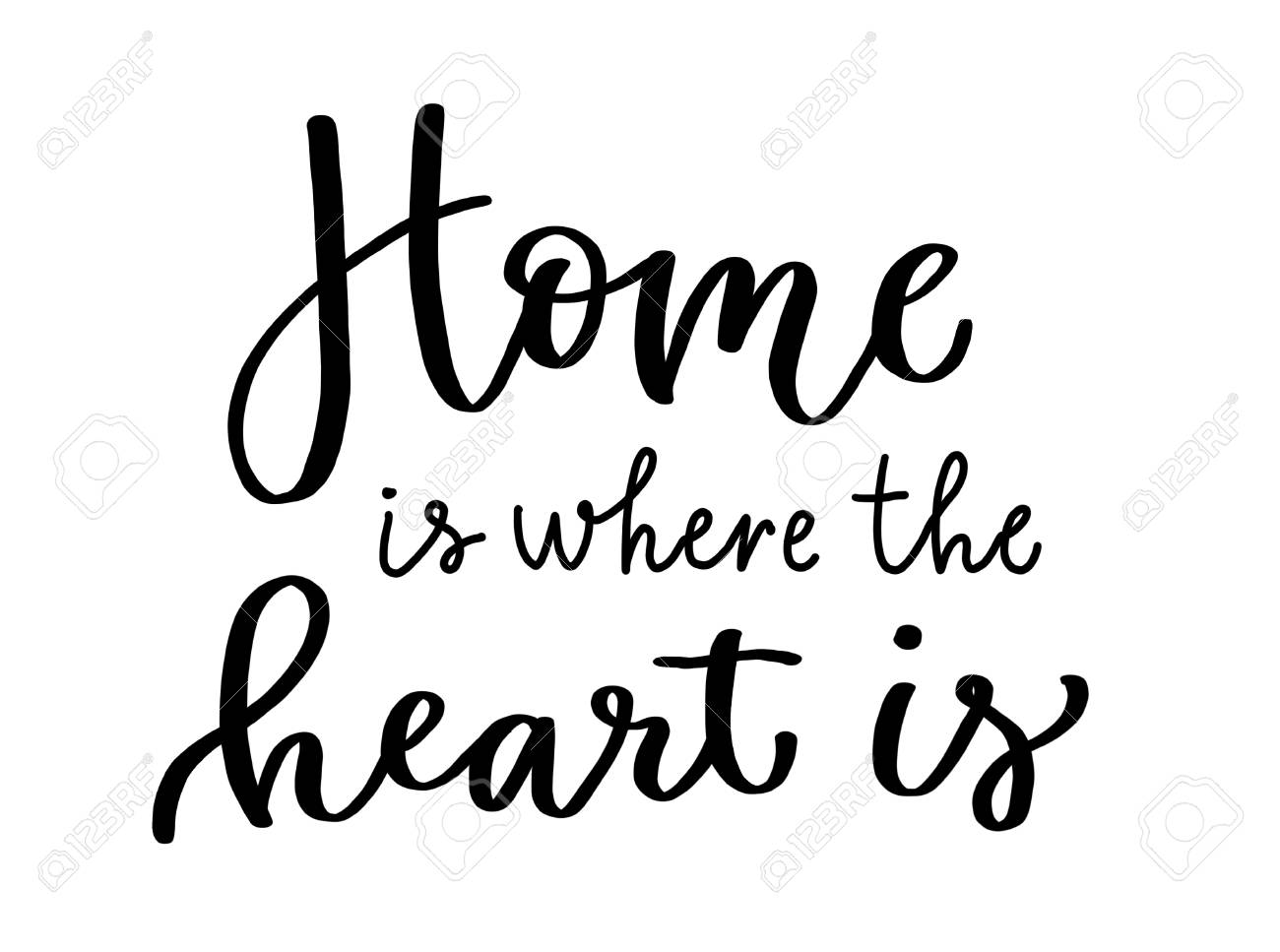 Home is where the heart is!