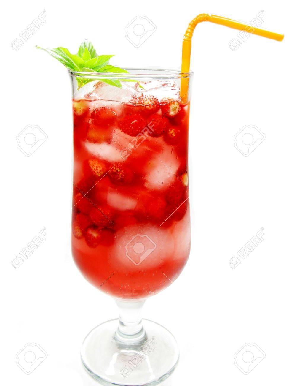 Cocktail au jus de fruit