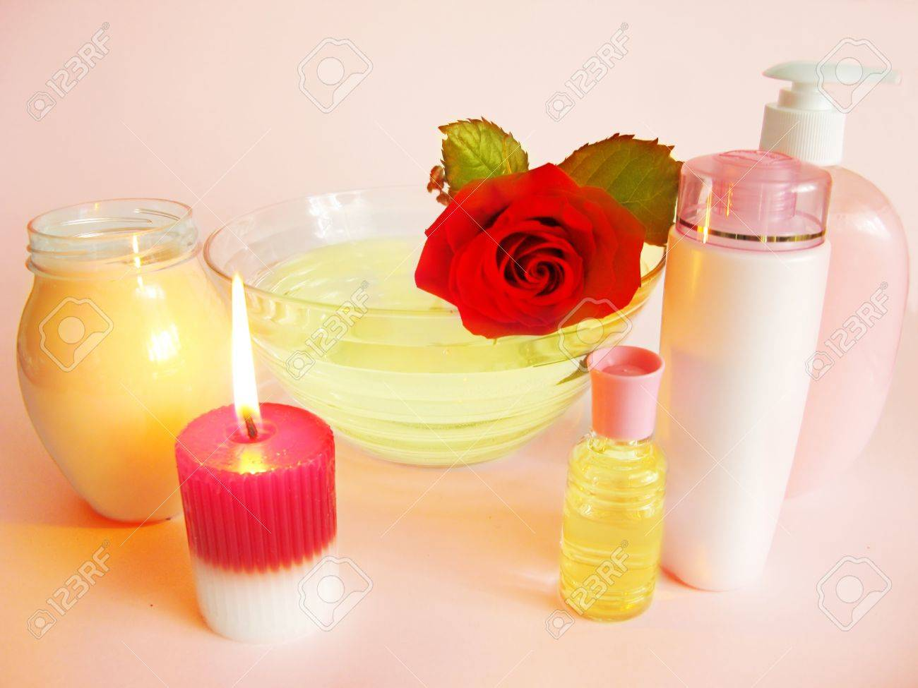 soap and candles