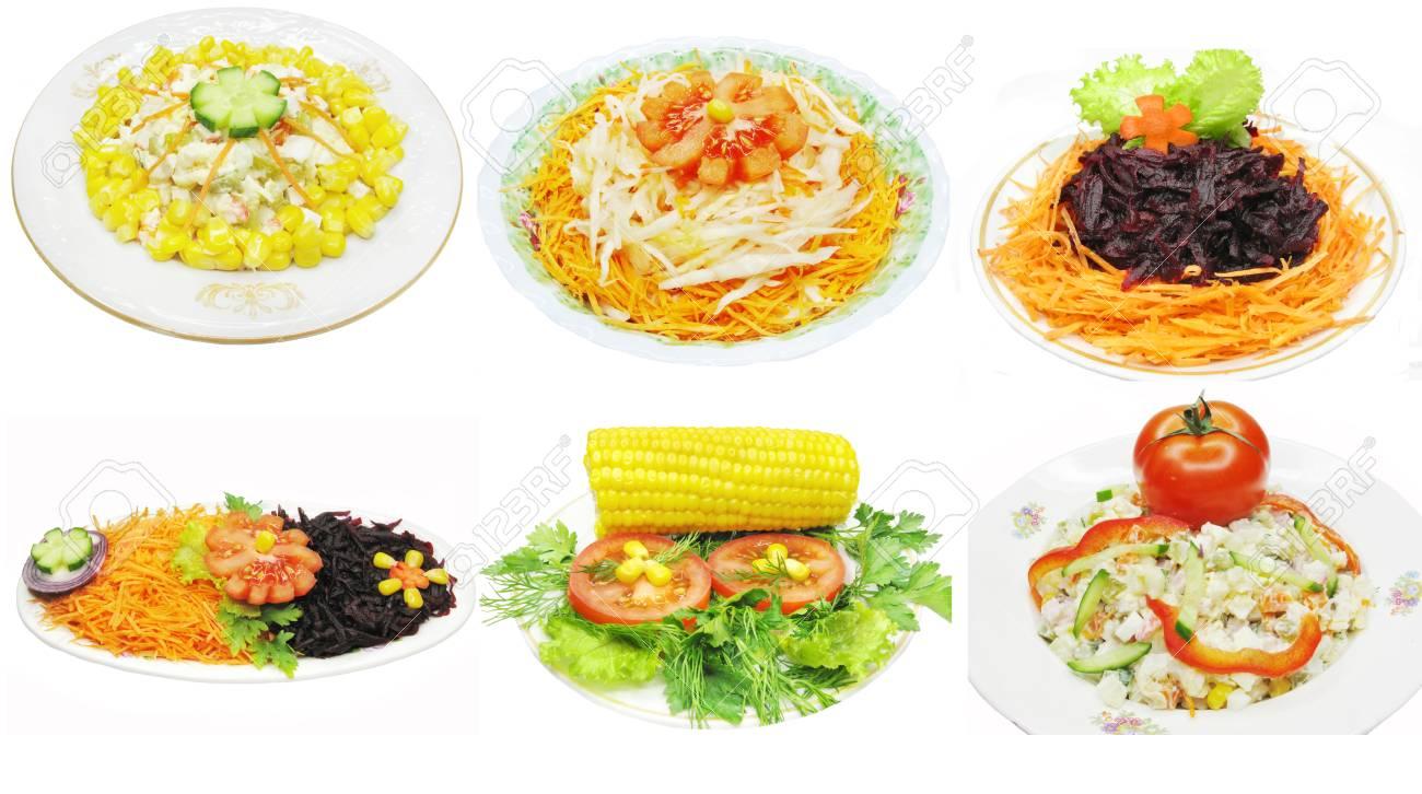 ensalada de vegetales con mayonesa