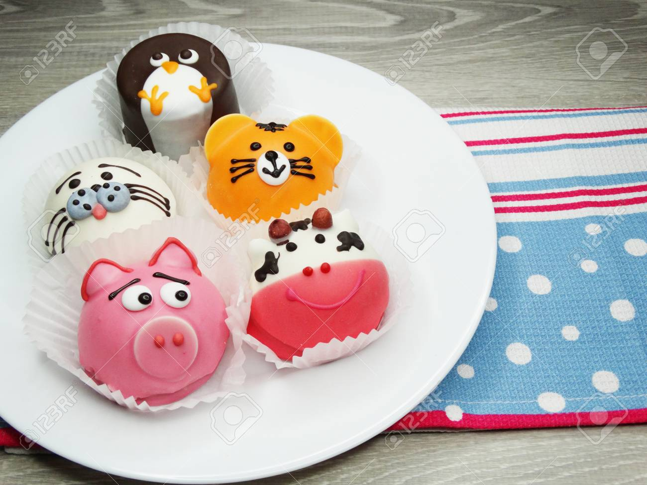 Kreative Geback Essen Kuchen Lustig Lustige Tiere Fur Kinder