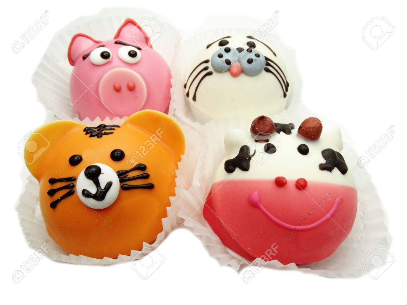 Kreative Geback Essen Kuchen Lustig Lustige Tiere Fur Kind