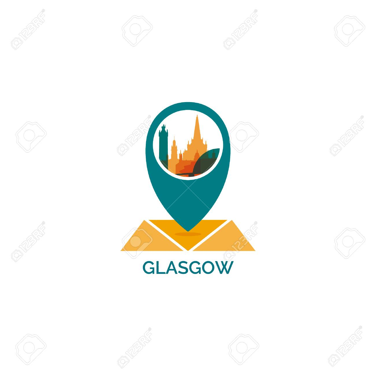 UK Scotland Great Britain Glasgow map city pin point geolocation.. on new york cities maps, europe cities maps, florida cities maps, texas cities maps, usa cities maps,