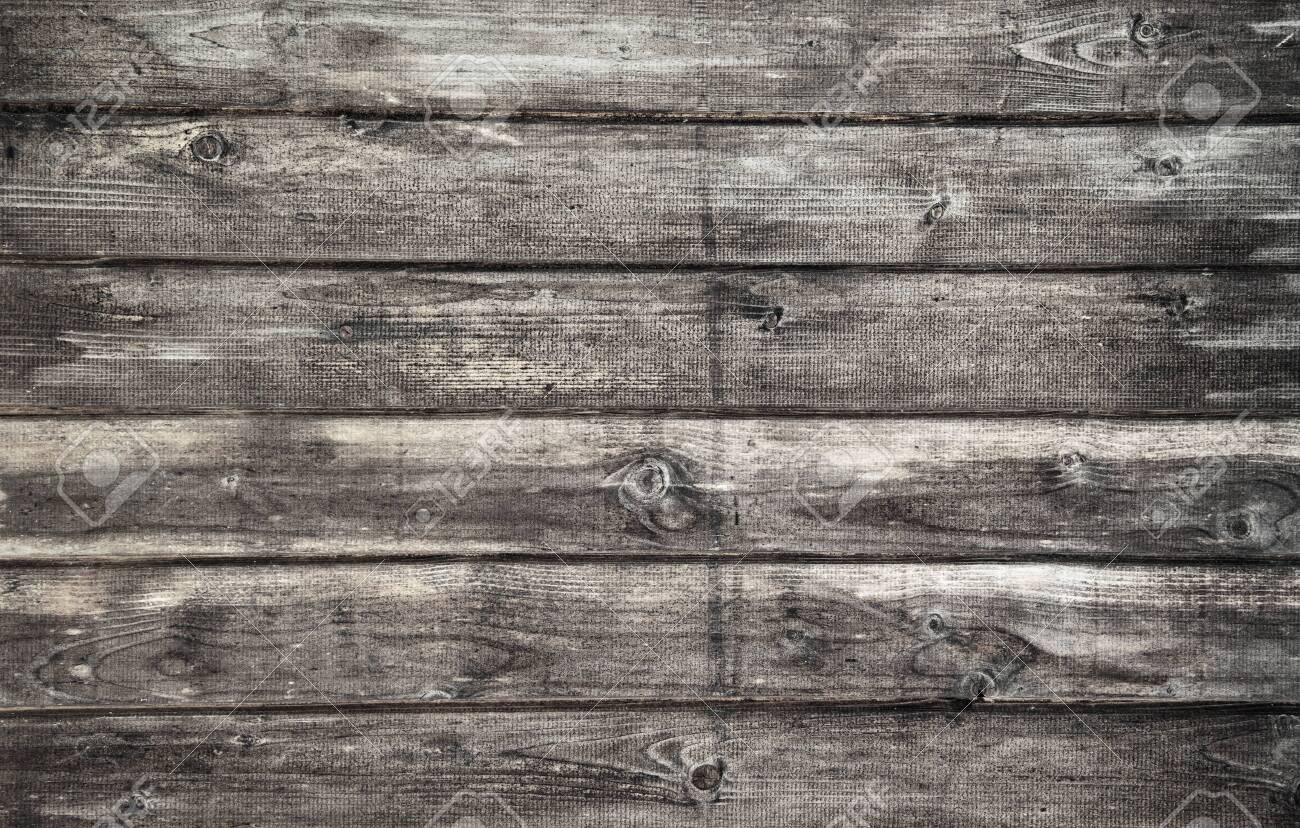 Wood plank gray texture background - 135073299