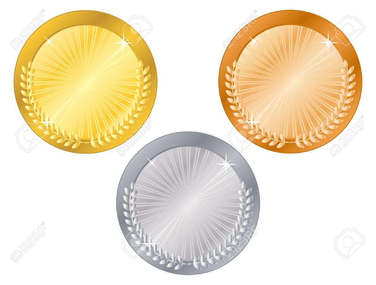 Medals-5 Stock Vector - 3881235