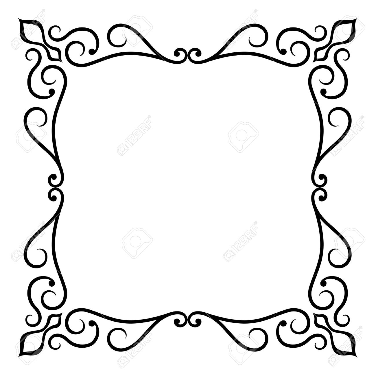 ornate frame royalty free cliparts vectors and stock illustration rh 123rf com ornate frame vector free download ornate frame vector free download