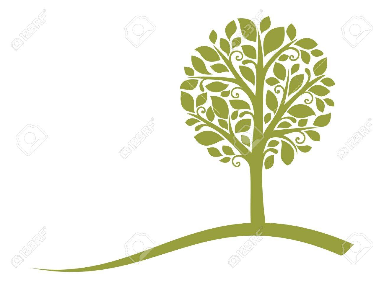 18,654 Tree Logo Cliparts, Stock Vector And Royalty Free Tree Logo ...