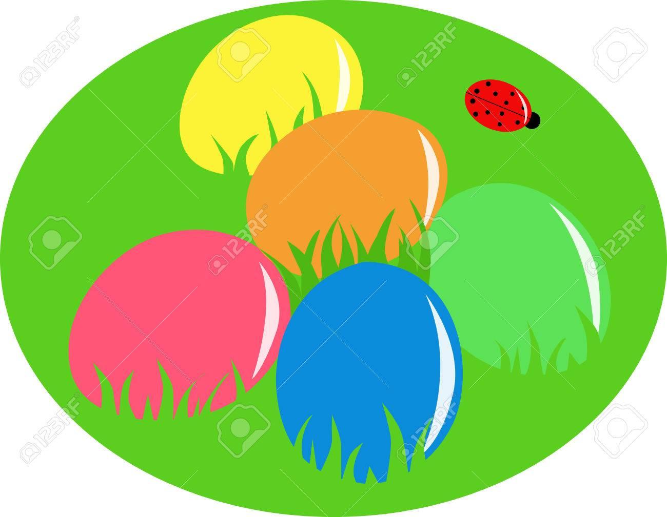 Easter eggs Stock Vector - 6330676