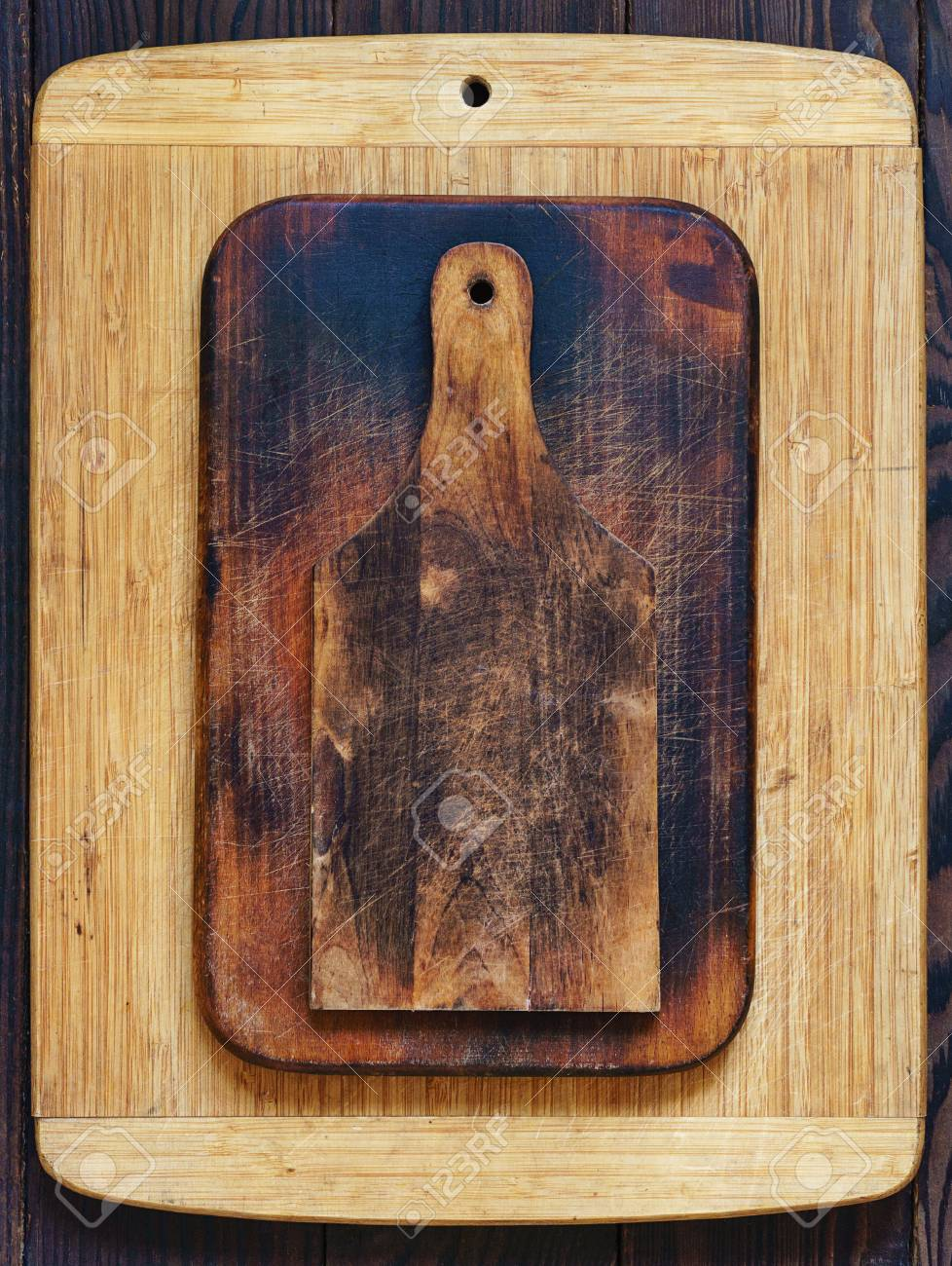 Wooden Cutting Boards Of Various Sizes And Shapes Stock Photo Picture And Royalty Free Image Image 111513997